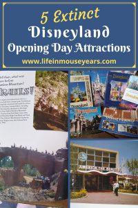 5 extinct disneyland opening day attractions www.lifeinmouseyears.com #lifeinmouseyears #disneyland